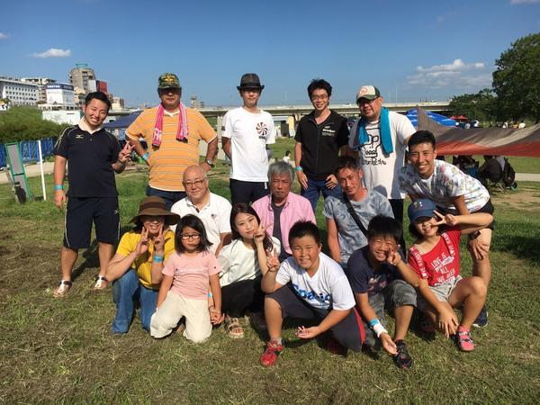 9月14日西中島淀川河川敷